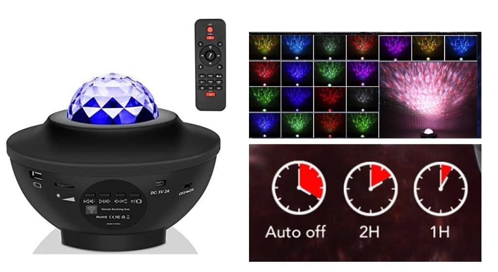 Kidwill-Star Projector Night Light Ocean Wave Projector Review