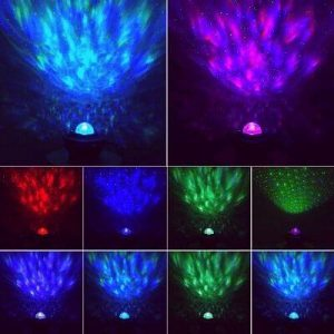 lighting modes of star projectors for babies image