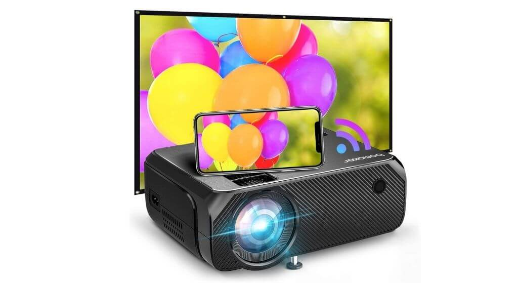 Bomaker-US-355 Upgraded to 2021 Home Theater Projector Review