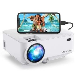 TOPVISION-T21 Screen Mirroring Movie Projector