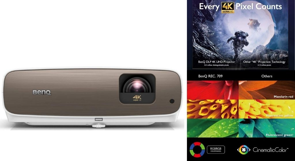 enQ HT3550_W2700 4K Home Theater Projector Review