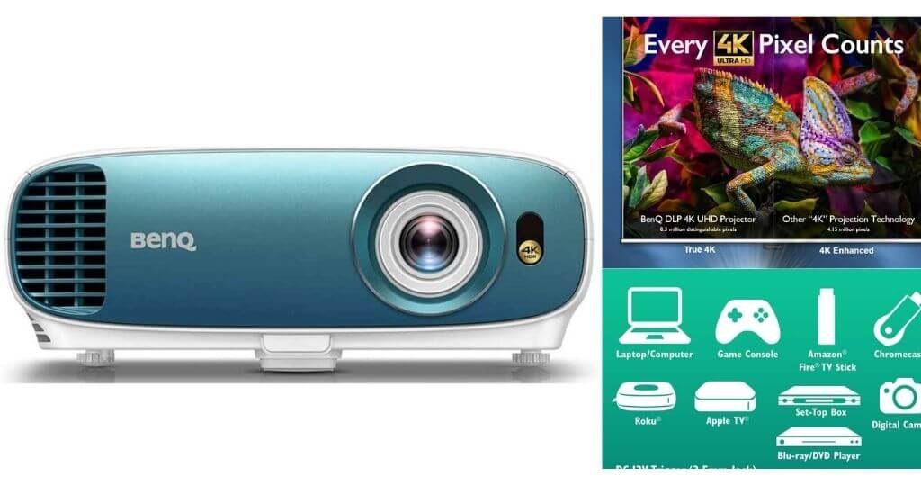 BenQ TK800M 4K UHD Home Theater Projector Review