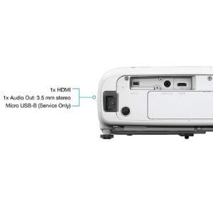 Epson Home Cinema 2250 connections
