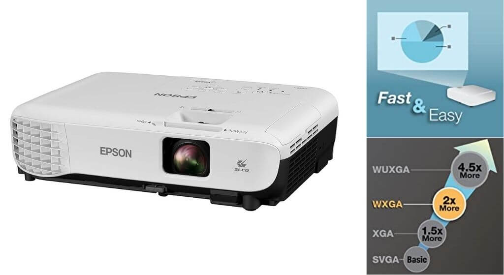 Epson VS355 WXGA Home Theater Projector Review