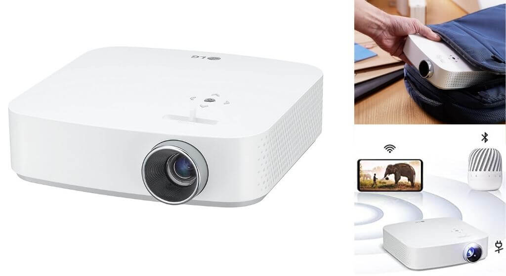 LG PF50KA Portable Full HD LED Smart Home Theater CineBeam Projector review