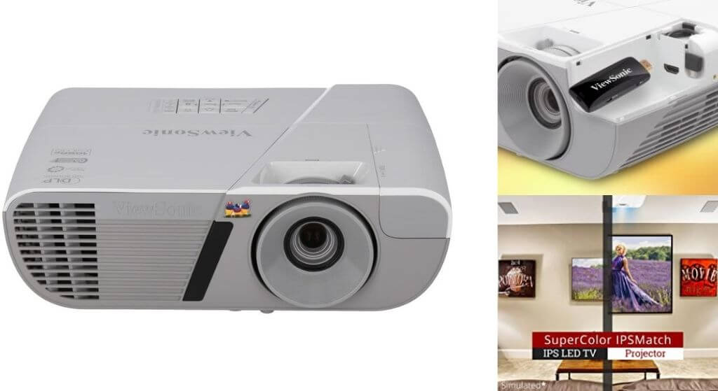 ViewSonic PJD7828HDL-3200 Lumens Full HD 1080p Shorter Throw Home Theater Projector review