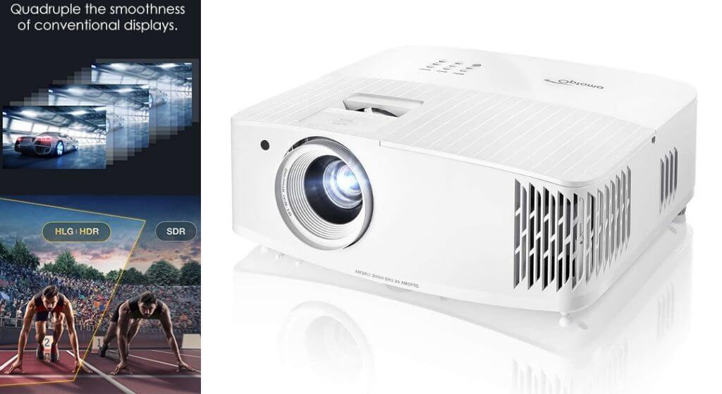 Optoma UHD30 True 4K UHD home theater Projector for gaming