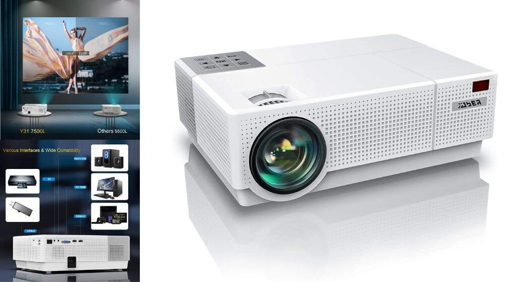 YABER Mini Home Theater Projector Review
