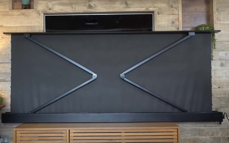 type of projector screens - Electronic Projector Screen