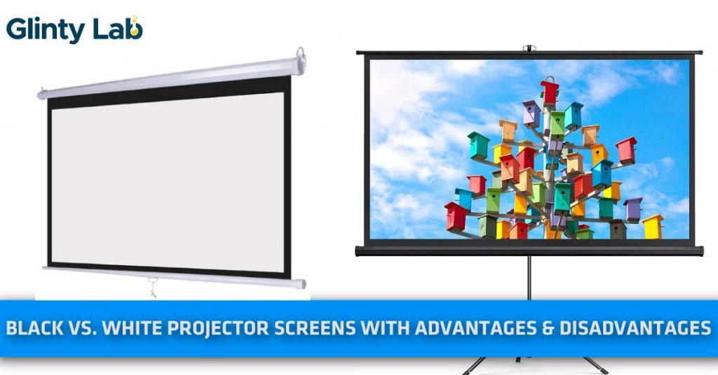 Black vs. White Projector Screens