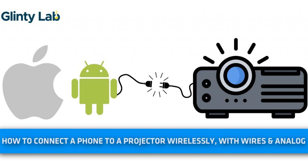 how to connect a phone to a projector
