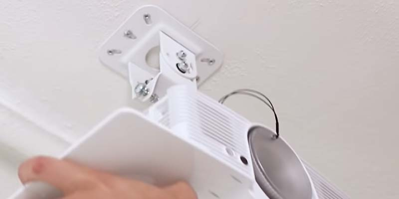 Mounting to the celling